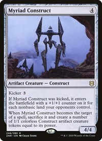 Myriad Construct, Magic, Zendikar Rising