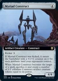 Myriad Construct (Extended Art), Magic, Zendikar Rising