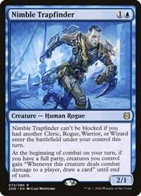 Nimble Trapfinder, Magic, Zendikar Rising