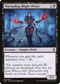 Marauding Blight-Priest, Magic, Zendikar Rising