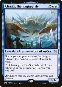 Charix, the Raging Isle, Magic: The Gathering, Zendikar Rising