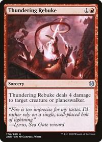 Thundering Rebuke, Magic, Zendikar Rising