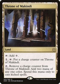 Throne of Makindi, Magic: The Gathering, Zendikar Rising