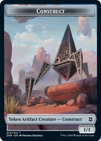 Construct Token, Magic: The Gathering, Zendikar Rising