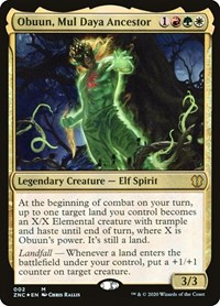 Obuun, Mul Daya Ancestor, Magic, Commander: Zendikar Rising