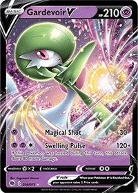 Gardevoir V, Pokemon, Champion's Path