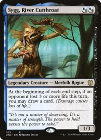 Sygg, River Cutthroat, Magic: The Gathering, Commander: Zendikar Rising