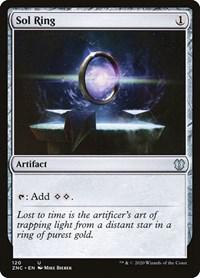 Sol Ring, Magic: The Gathering, Commander: Zendikar Rising