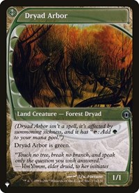 Dryad Arbor, Magic: The Gathering, The List