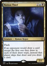 Notion Thief, Magic: The Gathering, Commander: Zendikar Rising