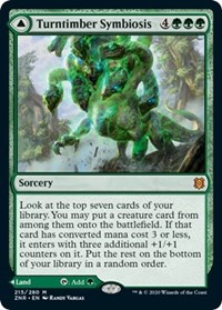 Turntimber Symbiosis, Magic: The Gathering, Zendikar Rising