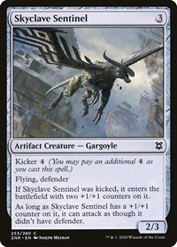Skyclave Sentinel, Magic, Zendikar Rising