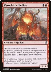 Pyroclastic Hellion, Magic, Zendikar Rising