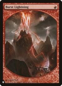 Burst Lightning (P10), Magic: The Gathering, The List