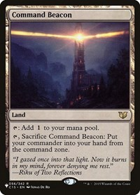 Command Beacon, Magic: The Gathering, The List