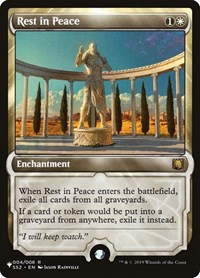Rest in Peace, Magic: The Gathering, The List
