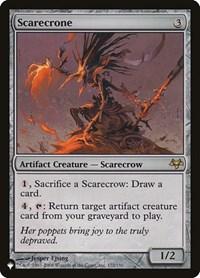 Scarecrone, Magic, The List