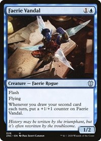 Faerie Vandal, Magic: The Gathering, Commander: Zendikar Rising