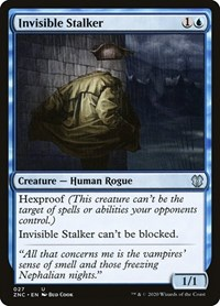 Invisible Stalker, Magic: The Gathering, Commander: Zendikar Rising