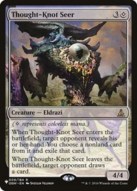 Thought-Knot Seer, Magic, The List