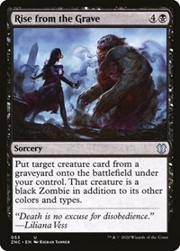 Rise from the Grave, Magic: The Gathering, Commander: Zendikar Rising