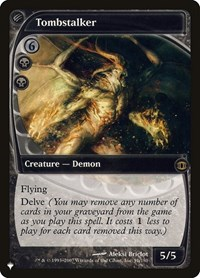 Tombstalker, Magic: The Gathering, The List