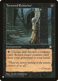 Tortured Existence, Magic: The Gathering, The List