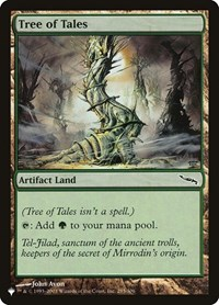 Tree of Tales, Magic: The Gathering, The List