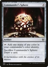 Commander's Sphere, Magic, Commander: Zendikar Rising