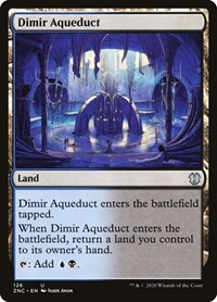 Dimir Aqueduct, Magic: The Gathering, Commander: Zendikar Rising