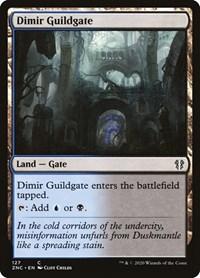 Dimir Guildgate, Magic: The Gathering, Commander: Zendikar Rising