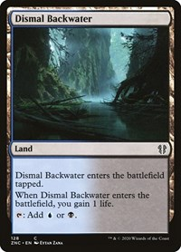 Dismal Backwater, Magic: The Gathering, Commander: Zendikar Rising