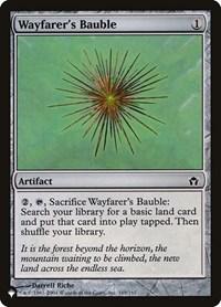 Wayfarer's Bauble, Magic: The Gathering, The List