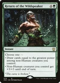 Return of the Wildspeaker, Magic, Commander: Zendikar Rising