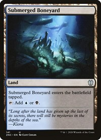 Submerged Boneyard, Magic: The Gathering, Commander: Zendikar Rising