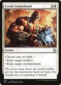Crush Contraband, Magic: The Gathering, Commander: Zendikar Rising