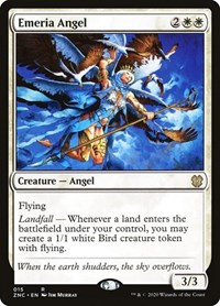 Emeria Angel, Magic: The Gathering, Commander: Zendikar Rising