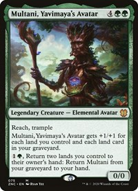Multani, Yavimaya's Avatar, Magic: The Gathering, Commander: Zendikar Rising
