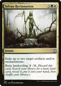 Sylvan Reclamation, Magic: The Gathering, Commander: Zendikar Rising