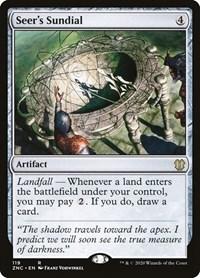 Seer's Sundial, Magic: The Gathering, Commander: Zendikar Rising