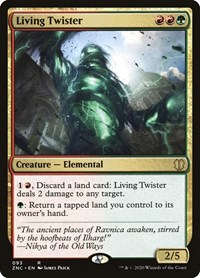 Living Twister, Magic: The Gathering, Commander: Zendikar Rising