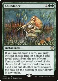 Abundance, Magic: The Gathering, Commander: Zendikar Rising