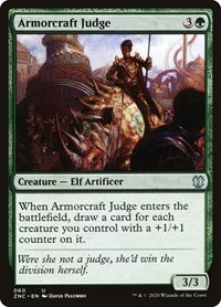 Armorcraft Judge, Magic: The Gathering, Commander: Zendikar Rising