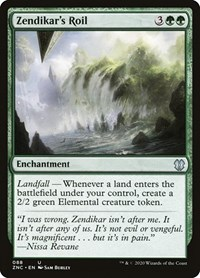Zendikar's Roil, Magic: The Gathering, Commander: Zendikar Rising