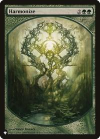 Harmonize (P08), Magic: The Gathering, The List