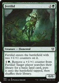 Fertilid, Magic: The Gathering, Commander: Zendikar Rising