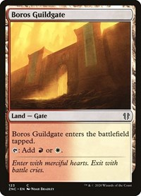 Boros Guildgate, Magic: The Gathering, Commander: Zendikar Rising