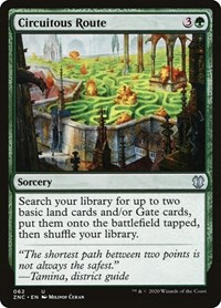 Circuitous Route, Magic: The Gathering, Commander: Zendikar Rising
