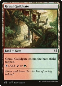 Gruul Guildgate, Magic: The Gathering, Commander: Zendikar Rising