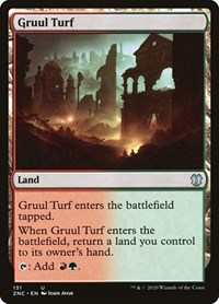 Gruul Turf, Magic: The Gathering, Commander: Zendikar Rising
